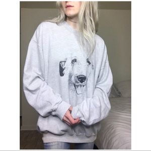 VTG Minimal Wolfhound Pullover /BUY1 GET1